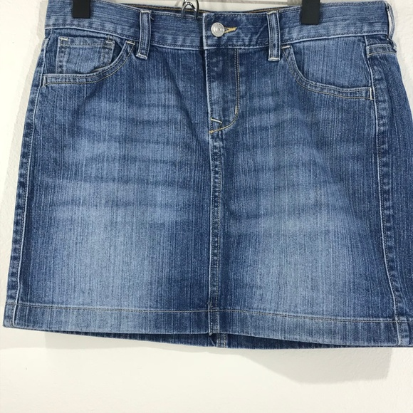Old Navy Dresses & Skirts - Old Navy Blue Denim Jean Skirt Size 6